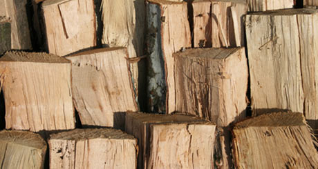 Brennholzwettbewerb in Wacken